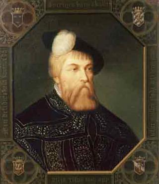 isveç'e bağımsızlığını kazandıran Büyük İsveç Kralı Gustav Vasa.